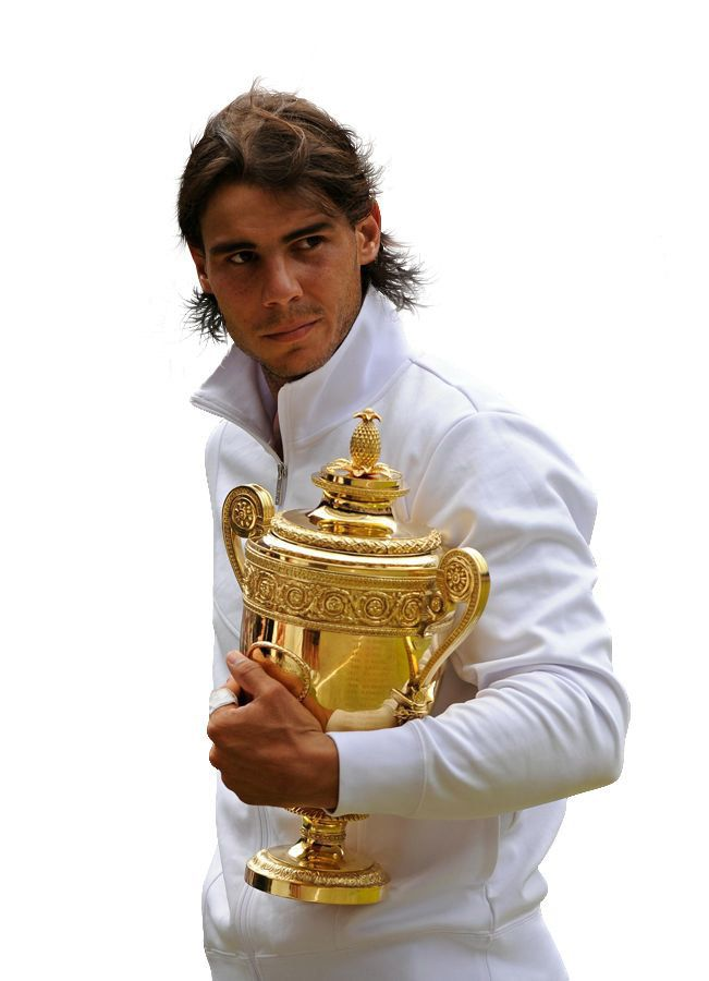 Rafael Nadal is a tennis player he has 14 title of grand slam and he is the best in the world now.