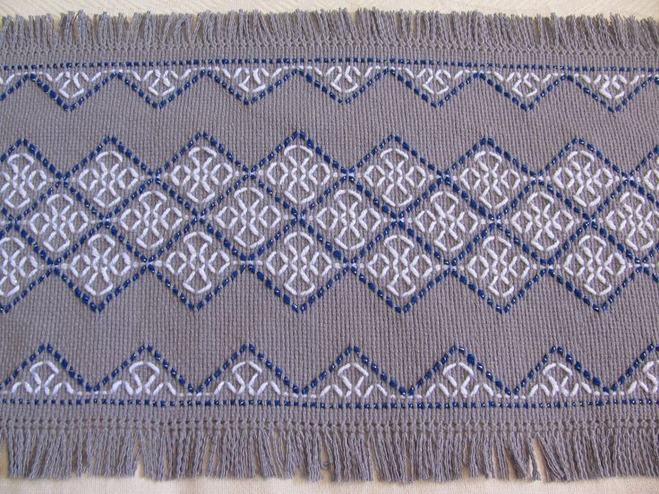 swedish weaving instructions and patterns