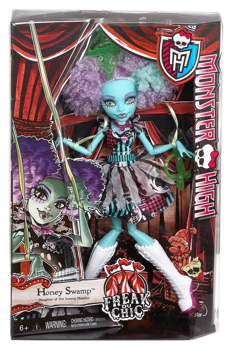 Honey Swamp Freak du Chic Monster High Doll, 2015 (I bought her on sale at Meijer for $15.)