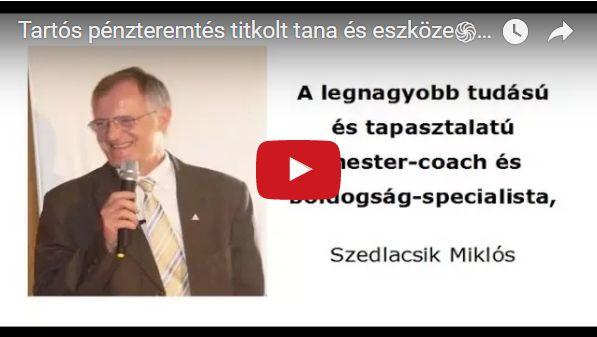 SZEDLACSIK MIKLÓS MESTER-COACH