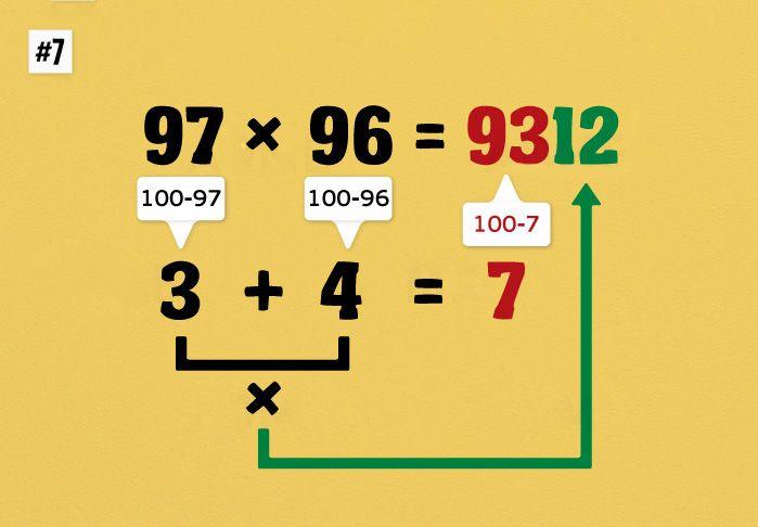 10 математических подсказок, которые научат вас считать очень быстро . Обсуждение на LiveInternet - Российский Сервис Онлайн-Дневников