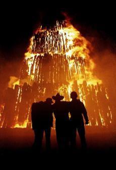 Aggie bonfire.