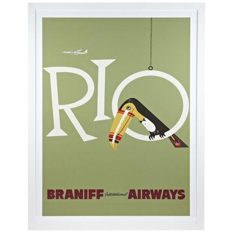 Rio Print 140x110cm | Freedom Furniture and Homewares