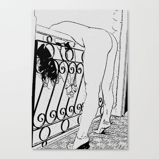 Erotic Home Decor - BDSM, bondage fantasy by Peter Reiss Fine art print on…
