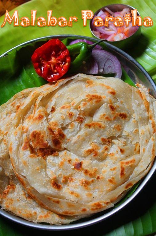 Malabar Paratha Recipe / Kerala Parotta Recipe / How to Make Malabar Parotta