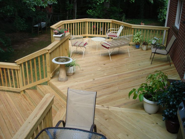 Create more outdoor living area add a new deck or redeck for Outdoor floating deck