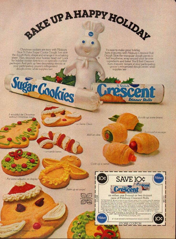 Pillsbury 1977* For lots of free Christmas paper dolls International Paper Doll Society #ArielleGabriel #ArtrA thanks to Pinterest paper doll collectors for sharing *