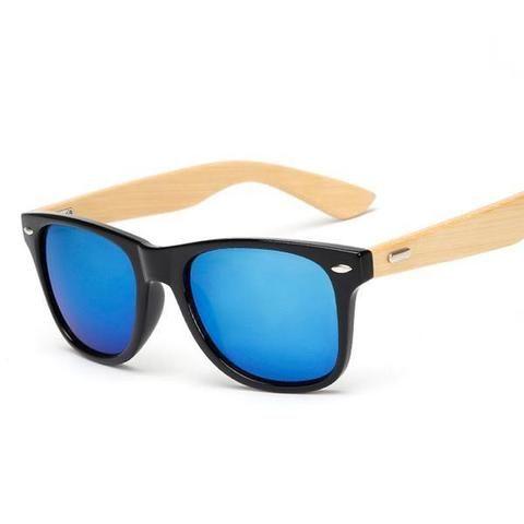 Retro Bamboo Sunglasses