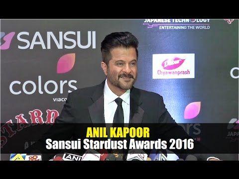 Anil Kapoor @ Stardust Awards 2016 | Bollywood News Villa.
