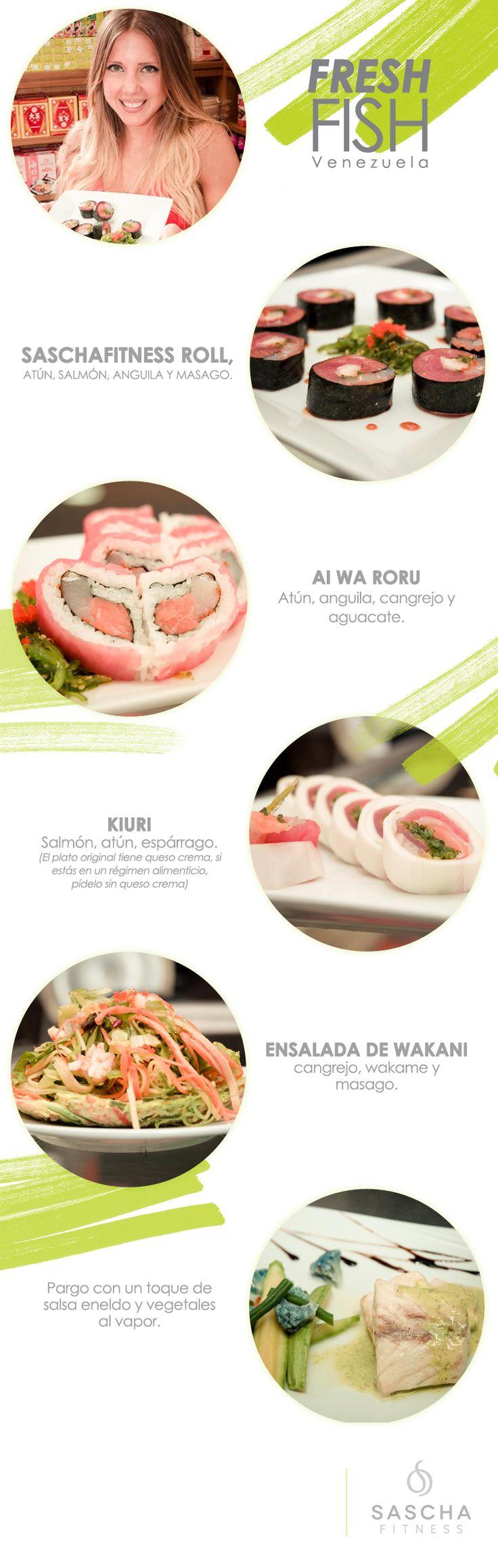 ¡Estoy enamorada de Fresh Fish! La comida riquísima, pescado súper fresco, atención de primera, me …