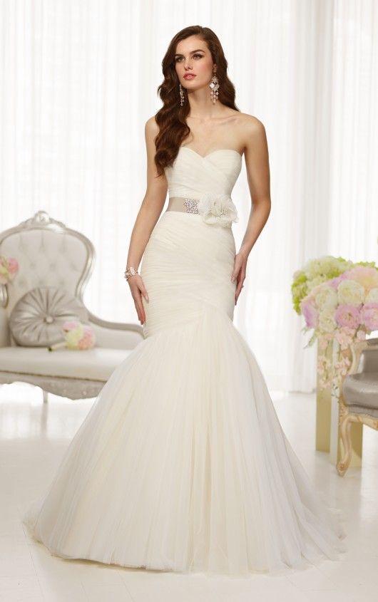 D1541 Tulle Wedding Dresses by Essense of Australia