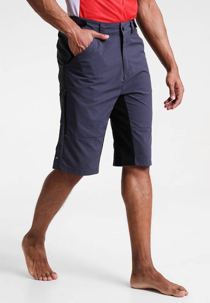 TRANSPIRE 2-IN-1 - kurze Sporthose - ebony grey . Leibhöhe:hoch. Verschluss:verdeckter Zip-Fly. Beinaußenlänge:62 cm bei Größe 48. Extras:reflektierende Elemente. Details:Reißverschluss,Eingrifftaschen. Verstärkungen:Gesäß. Hosentaschen:Gesäßtaschen,Seitentaschen. Länge:knielang. Modelgröße:Unser...