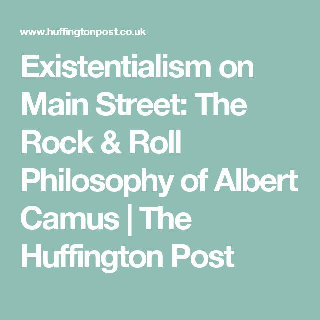 Camus And Existentialism essays