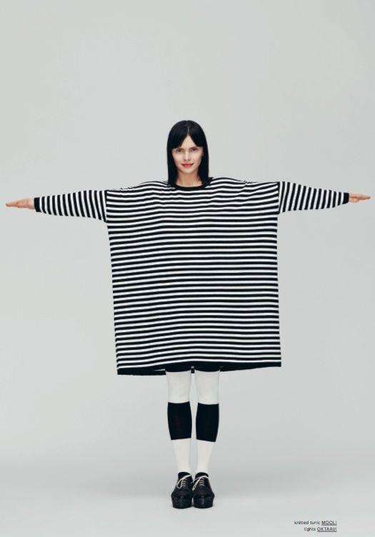 Marimekko Fall 2013: Mooli dress & Oktaavi tights