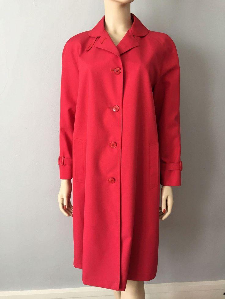 Hot Pink Raincoat Jacket Vintage 1960s Mod Women's Misty Harbor  Fuchsia  $45  https://www.rubylane.com/item/676693-CLO17-115/Hot-Pink-Raincoat-Jacket-Vintage-1960s?search=1