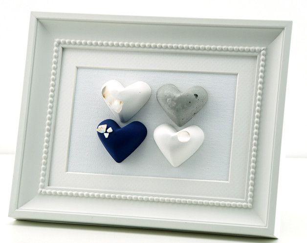 Herz Dekoration Bild  von von Herzen  auf DaWanda.com