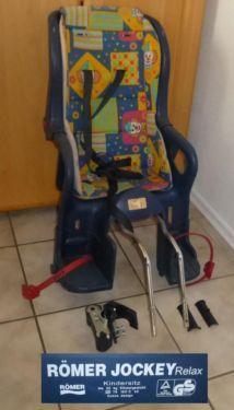 Römer Fahrradsitz Fahrrad Kindersitz mit Halterung für Kinder in Oberdischingen
