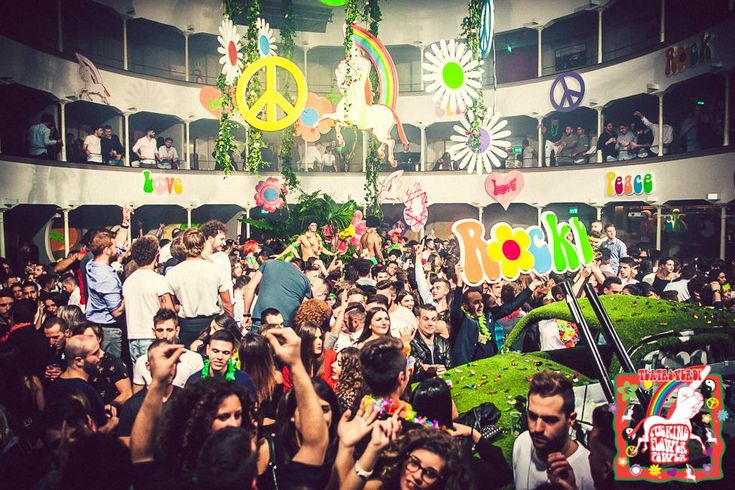 party flower power #edm #festival #themeparty