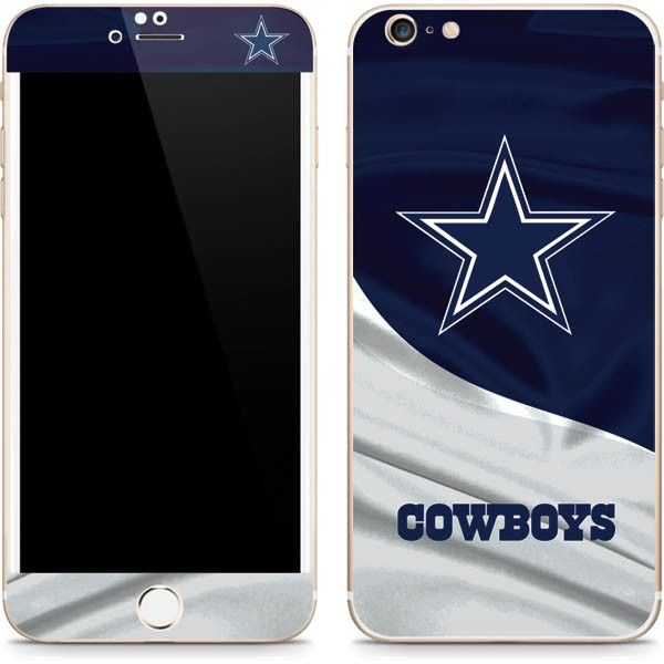 The Dallas Cowboys Skin provides premium iPhone 6/6s Plus coverage without the bulky protection of a case. Skinit NFL iPhone 6/6s Plus Skins are perfect for the ultimate football fan. Show off your Dallas Cowboys team pride in bold, vivid color. The Dallas Cowboys Phone Skin is a premium vinyl decal cut and crafted to fit your Apple iPhone 6/6s Plus perfectly. Skinit NFL Dallas Cowboys Skins are officially licensed and offer easy on, easy off iPhone 6/6s Plus personalizati...