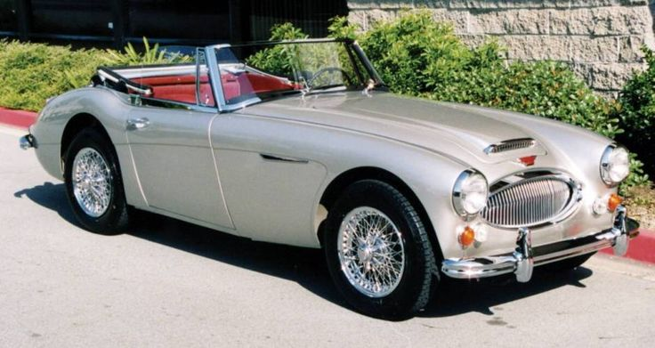 Austin Healey 3000. Other than the convertible E-Type can you think of a sexier British sports car from the 60's?
