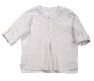 Выкройки VK: Выкройка рубашки для мальчика р.100-51-49-55