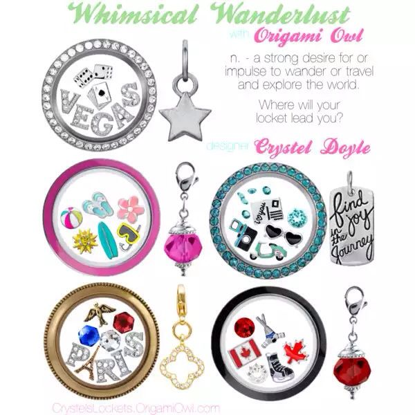 Wanderlust -- Where will your locket lead you? https://www.facebook.com/ALocket2Love https://www.facebook.com/ALocket2Love Designer # 39868