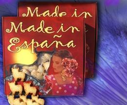 Pastas Made In España. El Beato.    Variedades: almendra y nata.    Envase de 400 g.  Caja de 10 unidades.