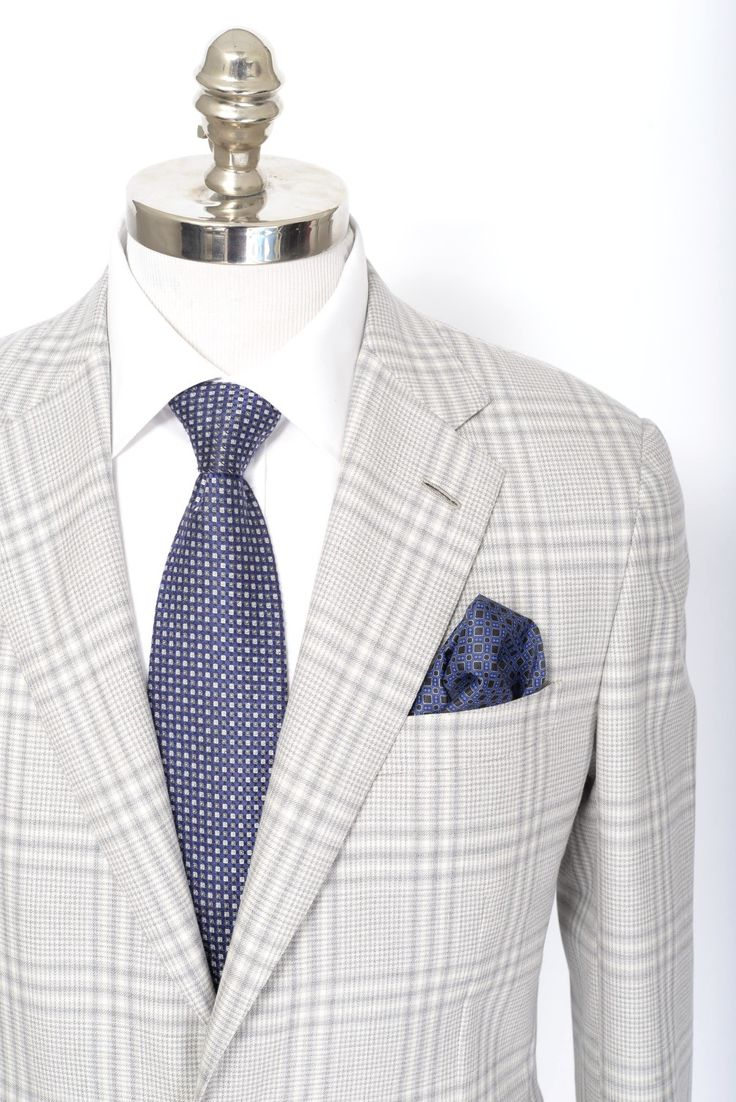 Gradients give the plaid a dimensional look, in this Brioni Piuma plaid extrafine wool blazer. | Find yours! http://www.frieschskys.com/blazers | #frieschskys #mensfashion #fashion #mensstyle #style #moda #menswear #dapper #stylish #MadeInItaly #Italy #couture #highfashion #designer #shopping