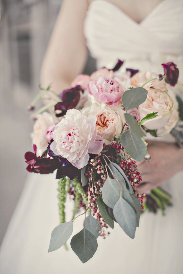 Flowers by shirley garden rose bouquets - Pink Peony Bridal Bouquet Parsonage Events Https Www Theknot Com Garden Rose
