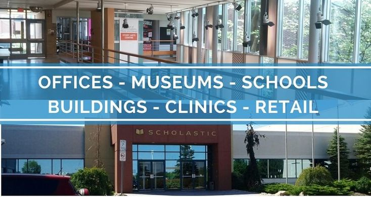 Commercial Painting Services for Toronto Offices, Clinics, Museums, Buildings, Schools and Retail
