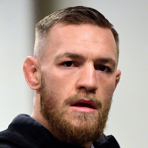 Conor McGregor Haircut - Short Comb Over Fade