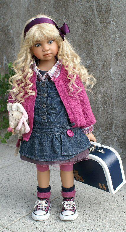 """Saphira"" Angela Sutter Dolls"