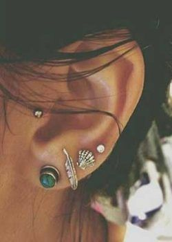 Cute Tragus Piercing - Simple yet cute