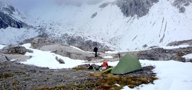 Schesaplana mit Biwak nach dem Wintereinbruch