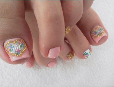 201 best toe nail art images on pinterest beautiful enamels and eye stylish pedicure nail art designs for summer 2012 prinsesfo Images