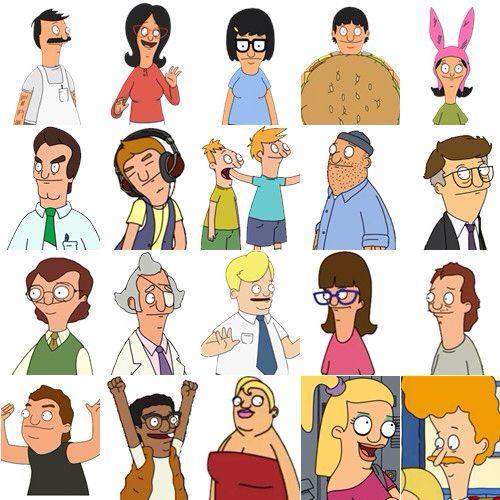 Bobs Burgers characters