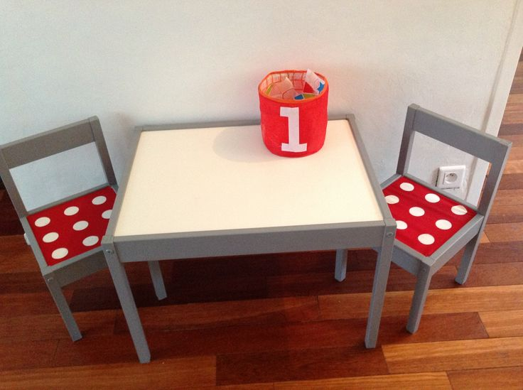 Table l tt de ikea customiser id es g niales pour les enfants pinterest - Customiser table ikea ...