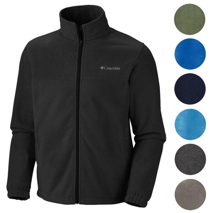 Columbia NEW Mens Original Warm Winter Fleece Zip Up Jacket #Columbia #FleeceJacket