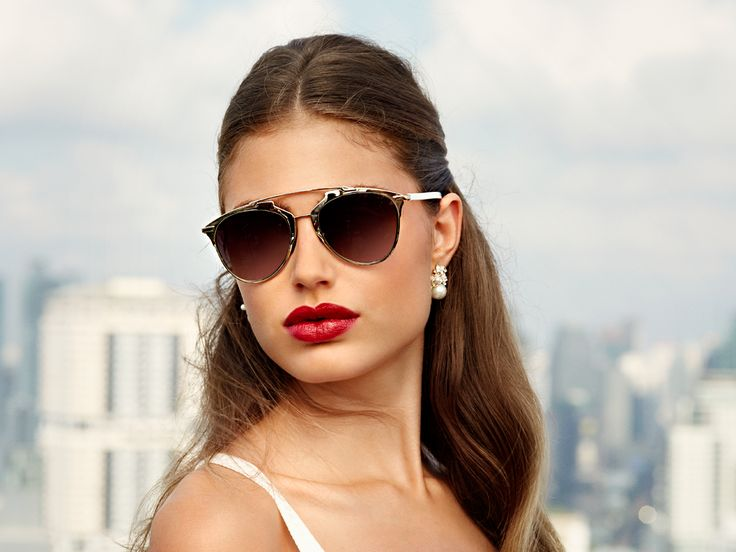 En av sommerens hotteste solbriller #reflected #dior #christiandior