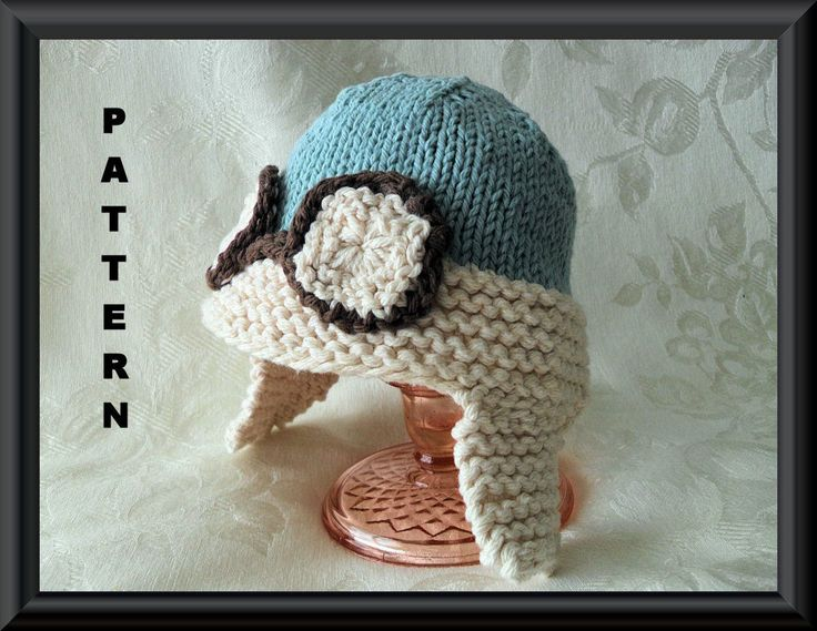 Knitting Pattern For Baby Aviator Hat : 17 Best ideas about Aviator Hat on Pinterest Beautiful crochet, Crochet hat...