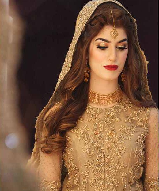 Beautiful bride By Natasha Salon Karachi