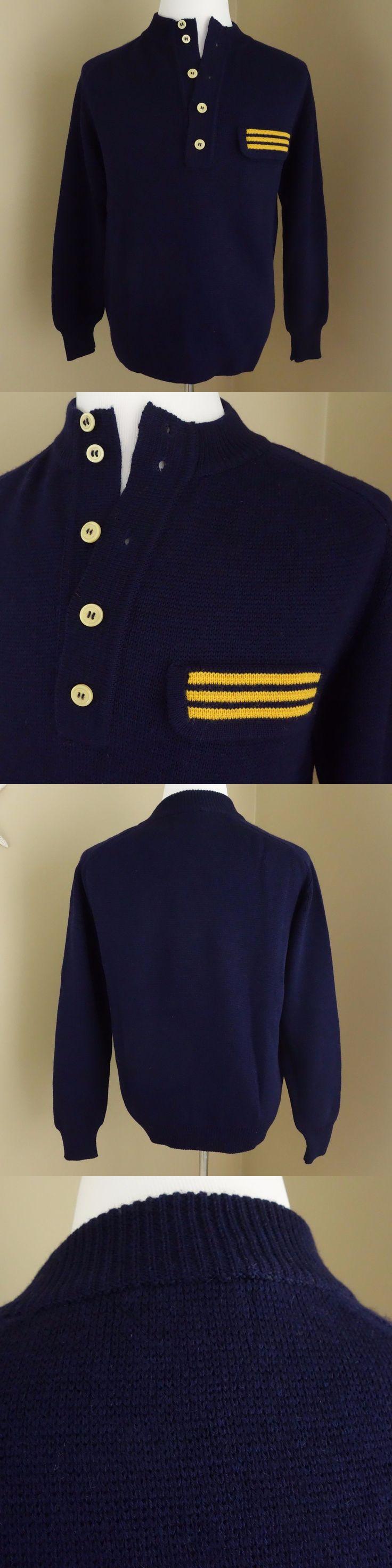 Sweaters 175774: Nwt- Vtg Herman Phillips Bennett Bernard Medium ...