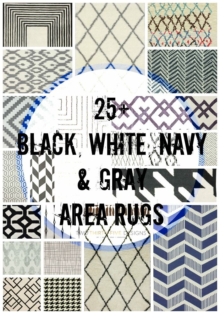 25+ Area Rugs - Two Thirty-Five Designs