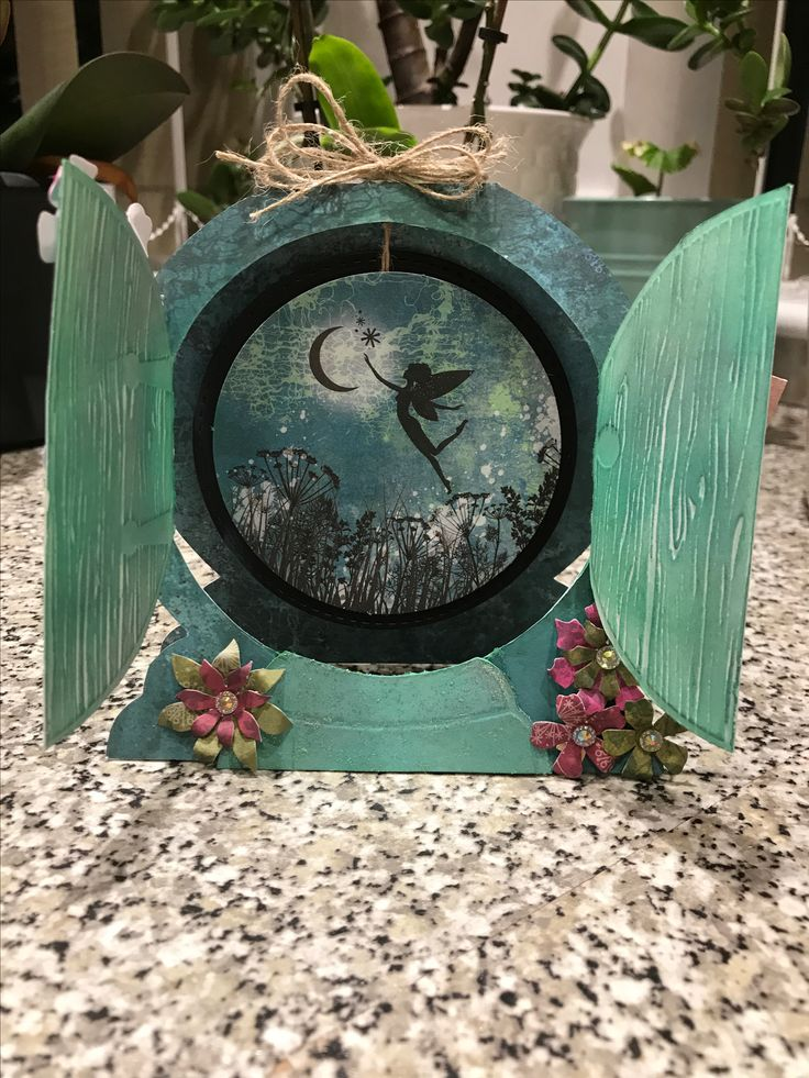 Created by Maxcine Etherington using Craftwork Cards dreamy Fairyland collection and fairy door cards x