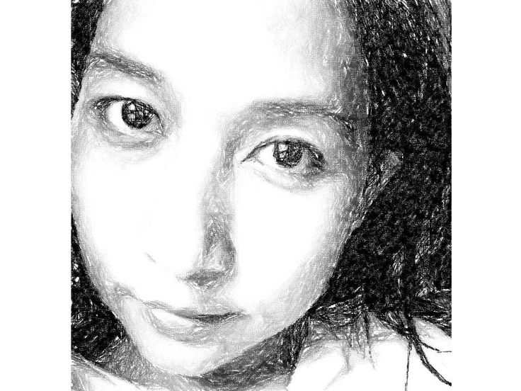 pencil drawing edited