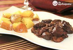 Cómo preparar este estofado sencillo y tradicional de ternera Bourguignon. Receta de ternera estofada o Boeuf bourguignon al estilo francés. Paso a paso.