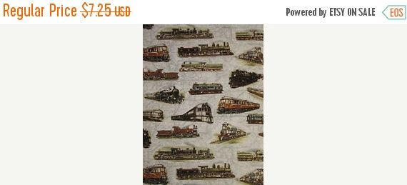 Trains Trains Trains--Hard Find Fabrics--LAST Piece by Altcollect on Etsy https://www.etsy.com/listing/201586266/trains-trains-trains-hard-find-fabrics