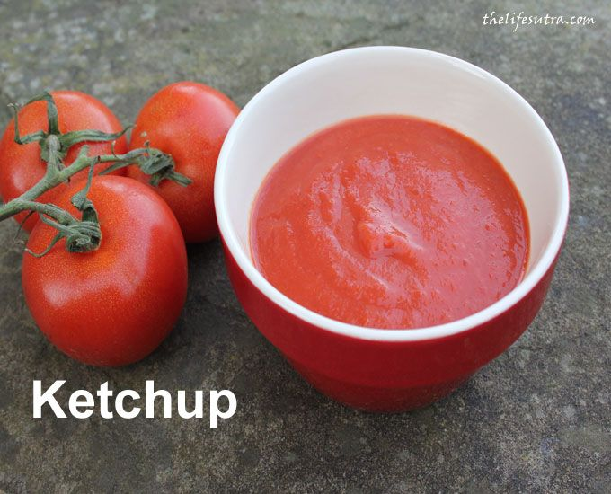 Homemade tomato ketchup without the junk so good it will pass the test of your most discerning child!
