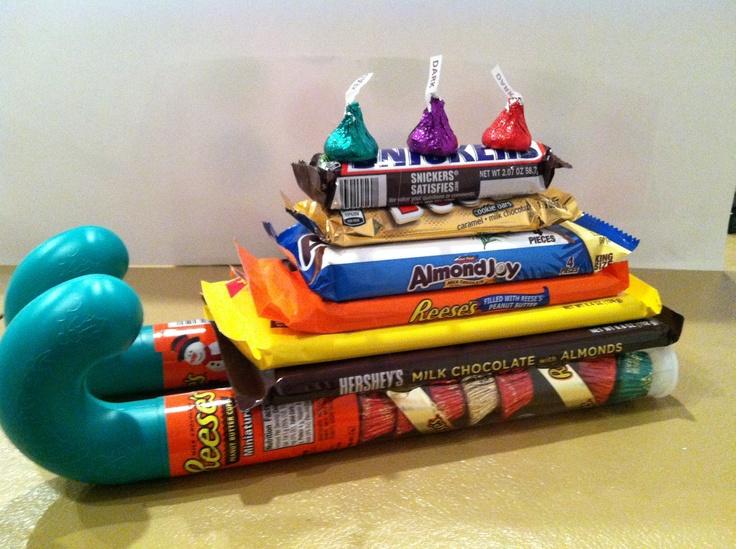 best 25 candy sleigh ideas on pinterest christmas candy gifts - Candy Sleighs For Christmas