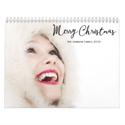 Personalized Calendars Christmas 2018 - Xmas ChristmasEve Christmas Eve Christmas merry xmas family kids gifts holidays Santa